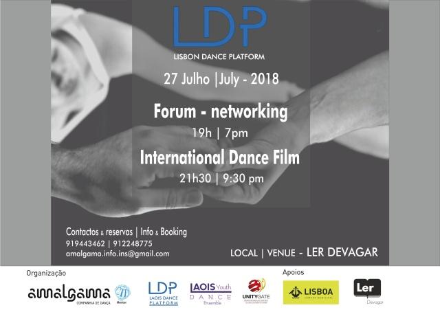 lisbon dance platform flyer 27 de julho