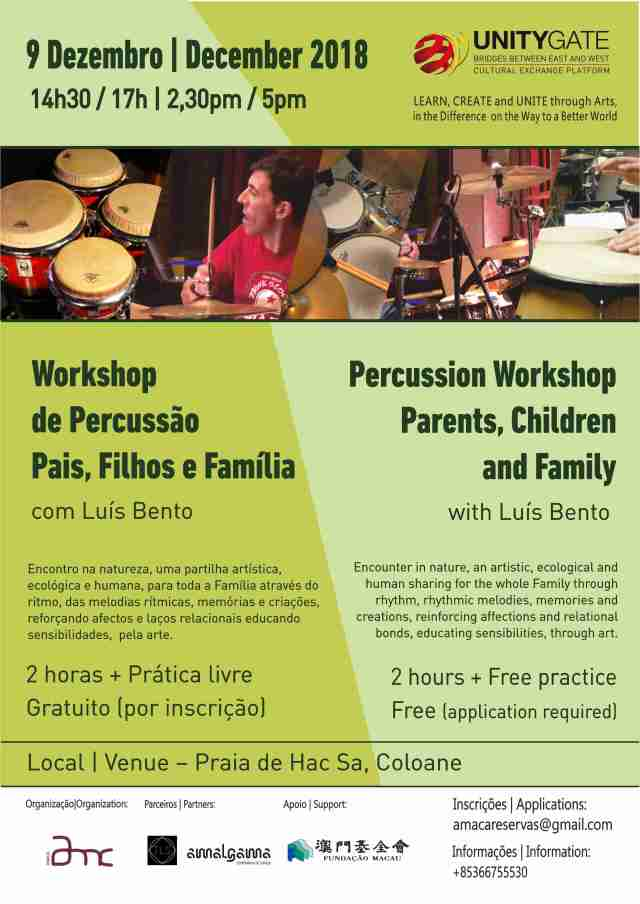 Ws percussao - cartaz
